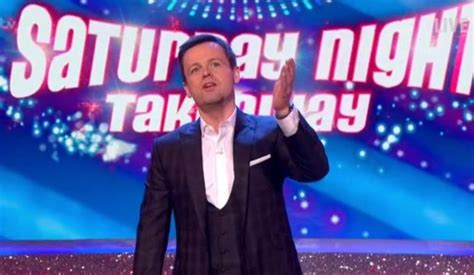 Declan Donnelly admits to sleepless night over Saturday ...