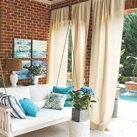 outdoor drapery   home custom creations interiors