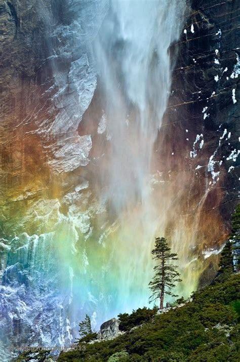 Yosemite Waterfalls California Usa Beautiful Places