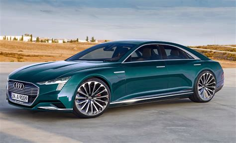2020 Audi E by 2020 Audi A9 C E The Four Door Luxury Electric Car