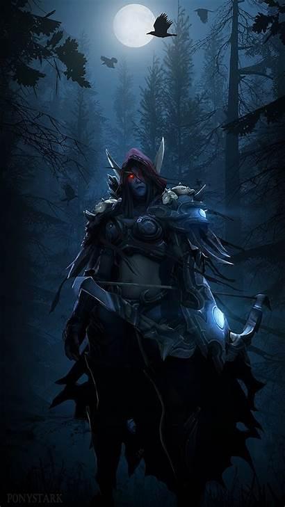 Warcraft Sylvanas Windrunner 1080 Desktop Night 1920