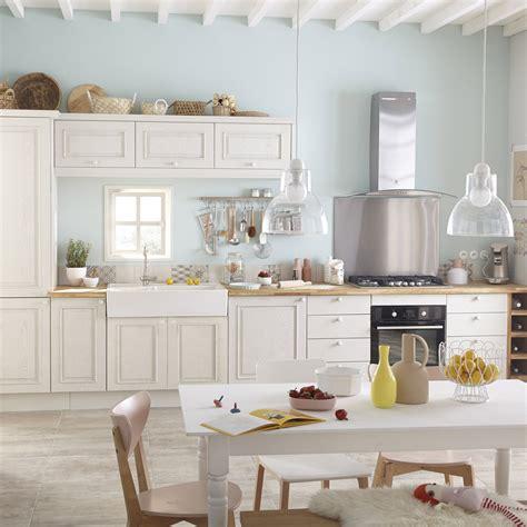meuble blanc cuisine meuble de cuisine blanc delinia cosy leroy merlin