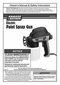 Harbor Freight Tools Electric Paint Spray Gun Product