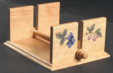 wooden napkin holder crafts woodworking projects plans