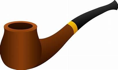 Pipe Clip Clipart Cigar Piece Smoking Tobacco