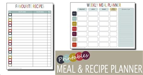 free weekly meal planner template weekly meal planner template free printable family home lifestyle with munchers