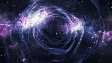 Spiral Galaxy Animation Milky Way Stock Footage Video