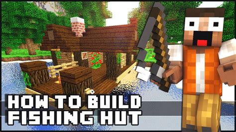 minecraft house tutorial small fishing hut youtube