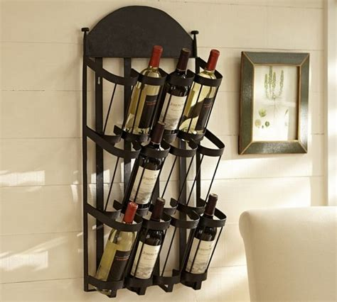 pottery barn wine rack vintners wall mount wine rack contemporary wine racks