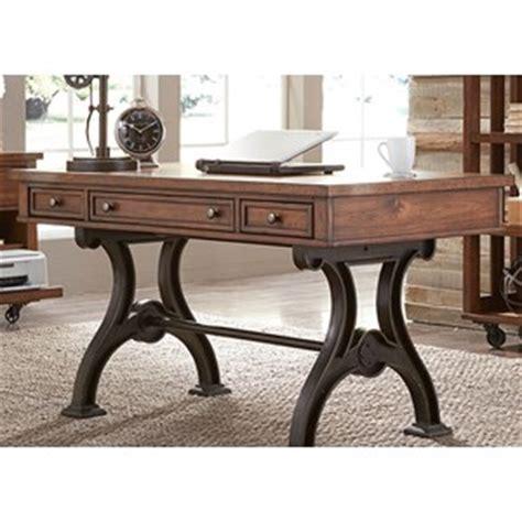 wayfair trestle writing desk liberty furniture arlington 5 trestle table and