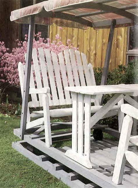 lawn glider plans woodwork city  woodworking plans