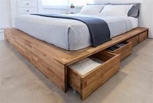 Rangement Tiroir Bois : lit avec rangement tiroir ~ Premium-room.com Idées de Décoration