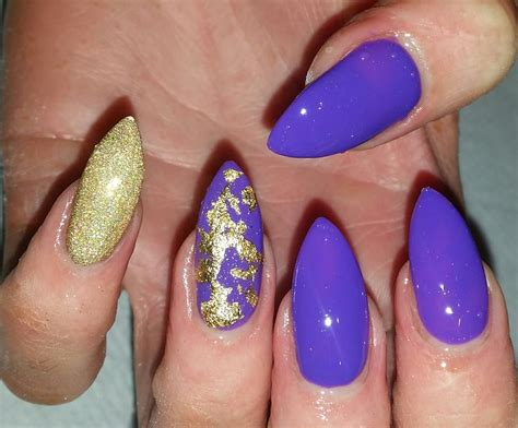 63 Extremely Bold And Ultra Chic Metallic Nails That Are
