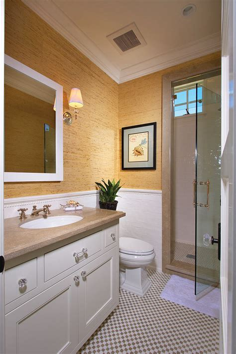 bathroom wallpaper ideas interior design ideas home bunch interior design ideas Half
