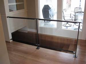 Glass Railing Hardware Ideas — Railing Stairs And Kitchen