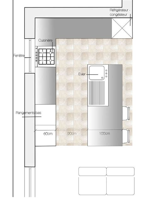 plan cuisine beautiful plan cuisine ilot contemporary amazing house design getfitamerica us