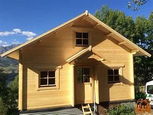 Vente Chalet Bois Habitable : montage chalet en bois avec mezzanine versaille 61 m stmb ~ Melissatoandfro.com Idées de Décoration