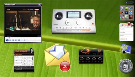 gadgets bureau windows 8 gadget de bureau comment afficher les gadgets windows 7