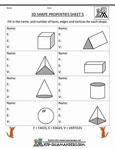 third grade math practice 3d shape properties 5 ...