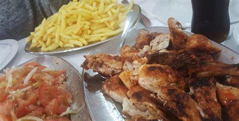(escolher entre frango ou porco), 1 acompanhamento pequeno, 1 bebida individual. O TEODÓSIO - O REI DOS FRANGOS (Guia) — Onde Vamos Jantar?