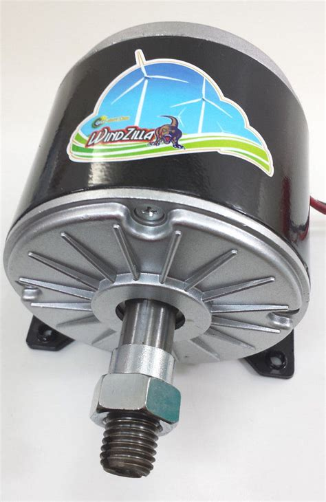 windzilla vv dc permanent magnet motor generator  wind turbine pma ebay