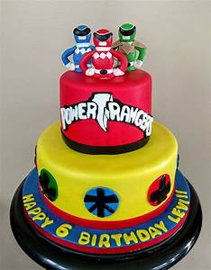 Power Ranger - CakeCentral com