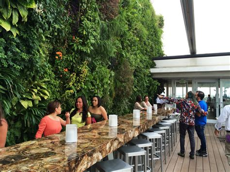 Vertical Garden Miami by Juvia Restaurant Miami Vertical Garden Blanc
