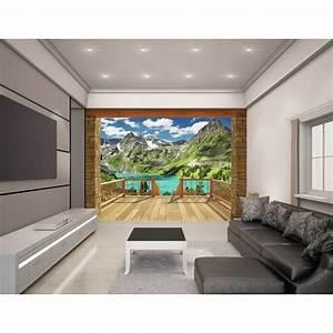 Buy walltastic alpine mountain wallpaper mural at argos