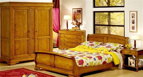 chambre louis philippe merisier massif meubles bois massifs meuble chêne massif lit armoire massif