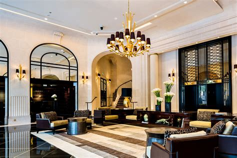 starwood hotels resorts reopens an deco icon prince de galles a luxury collection hotel