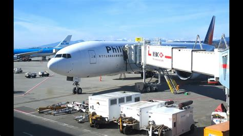 philippine airlines boeing  manila  vancouver