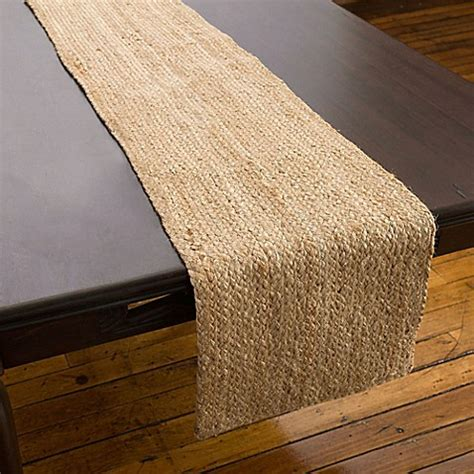 willow table runner  natural bed bath