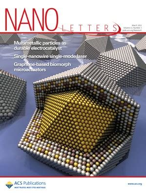 Nano Letters Cover Letter by Nano Letters Volume 11 Issue 3