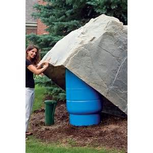 dekorra mock rock 114 pump house well tank cover fake
