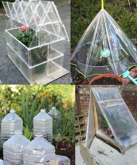 easy diy mini greenhouse ideas creative