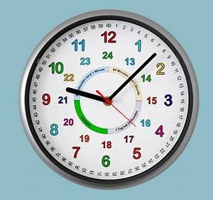 Uhr Mit Zahlen : kinder wanduhr uhr lernuhr schule lernen bunte zahlen 12 ~ A.2002-acura-tl-radio.info Haus und Dekorationen