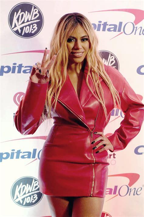 Dinah Jane Attends Kdwb Jingle Ball Leather