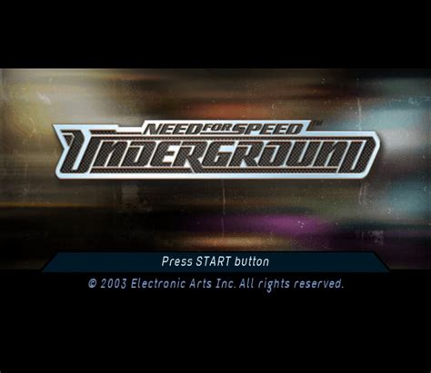 Need for Speed: Underground Details - LaunchBox Games Database