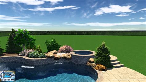 Aquascape Pools by Orme Pool Studio 3d Aquascape Pools Design