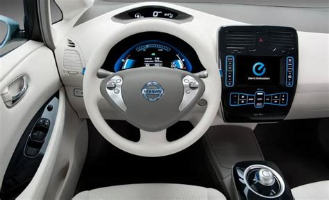 nissan leaf electric miles interior charge charging option battery cars fast twice drove owner treehugger vehicle commence orders fully test