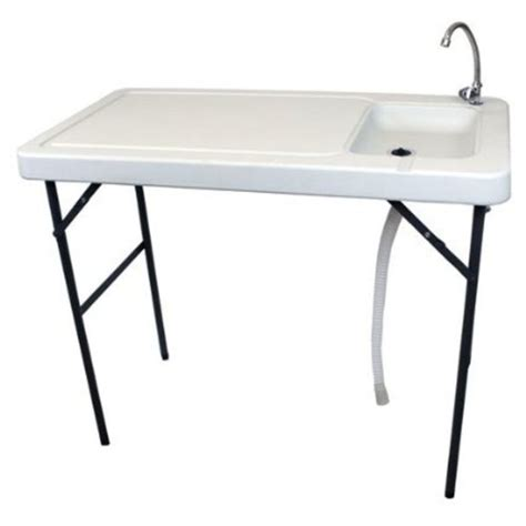 fish cleaning table with sink best portable fish cleaning table a listly list