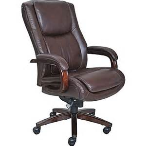 la z boy winston leather executive office chair fixed