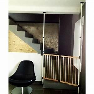Barriere De Securite Escalier Sans Vis : barri re de s curit escalier sans percer achat vente ~ Premium-room.com Idées de Décoration