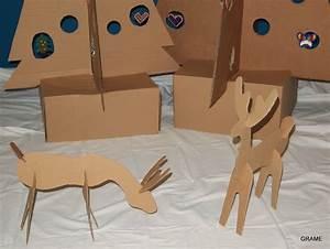 Renne En Carton : un no l en carton grame ~ Melissatoandfro.com Idées de Décoration