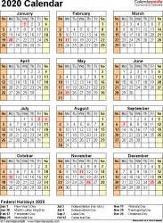 calendar  printable microsoft word templates