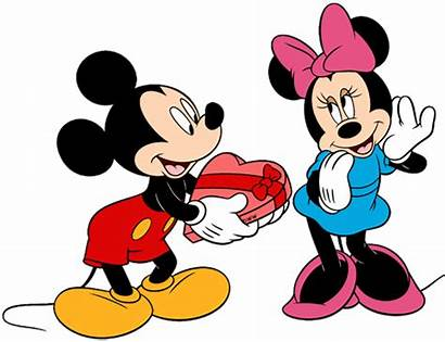 Mickey Minnie Mouse Valentines Clipart Dibujos Valentine