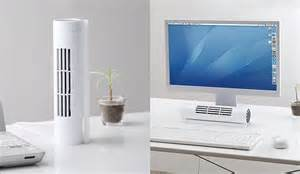bladeless horizontal vertical desk fan the green head