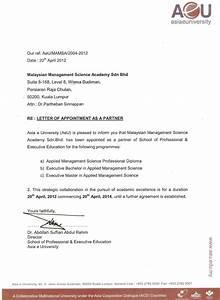 Authorization Letters  U2013 Mamsa