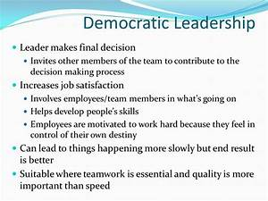 Leadership Styles Chapter ppt video online download