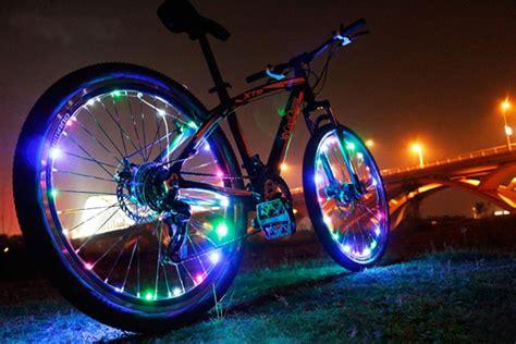 led bike wheel lights bike bicycle wheel valve spoke led light l reflector